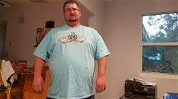 thomas r. verified customer review of Insane Whoop Tee - 5XL
