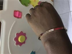 Yemi S. verified customer review of Saved by Grace Bracelet