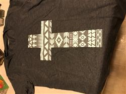 Patricia G. verified customer review of Aztec Cross Women's Tee