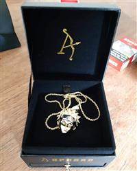 verified customer review of [Limited Edition] 14K Gold Iced Out Naruto Pendant [Ships After Aug.25th]