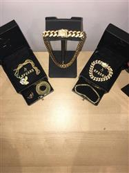 verified customer review of 12mm 14K Gold Iced Out Cuban Chain And Bracelet Set