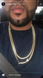 "verified customer review of 18""+24"" 12mm 14K Gold Miami Cuban Curb Chain"