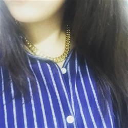 carolchouzyj verified customer review of 12mm 14K Gold Miami Cuban Curb Chain