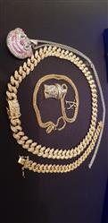 Jay Quinn verified customer review of 12mm 14K Gold Iced Out Cuban Chain