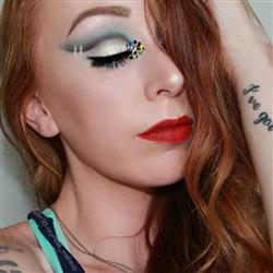Brittney B. verified customer review of Sally The Corpse Bride | The Nightmare Before Christmas Halloween Body Glitter