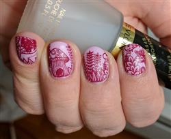 Wendy G. verified customer review of 10pc Nature Themed Nail Stamp Plates - Mystic Woods, Set 1