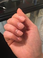 Crystal M. verified customer review of Nude Color Themed Nail Lacquer Gel Polish - Oasis Collection