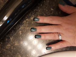Lisa W. verified customer review of 3pc Dark Thermal Color Changing Gel Polish Collection - Enchanted