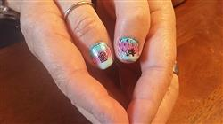 Erin E. verified customer review of Endless Summer Rub-On Nail Decals - Set of 4 Sheets