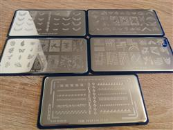 Doris B. verified customer review of Chic Peek Collection (XL471 to XL475) - Set of 5 Nail Stamping Plates