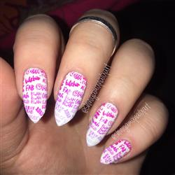 Sarah B. verified customer review of Stay Weird Collection (P106 to P110) - Set of 5 Nail Stamping Plates
