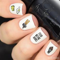Jessica J. verified customer review of Stay Weird Collection (P106 to P110) - Set of 5 Nail Stamping Plates