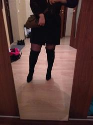 Praskovya Shcherbakova verified customer review of Lace Up Over The Knee Boots