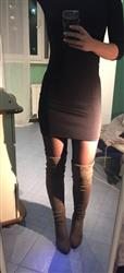 Alina Alexandrova verified customer review of High Heel Over The Knee Winter Boots