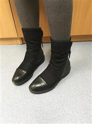 Aoife Alexander verified customer review of Suede Soft Leather Winter Boots
