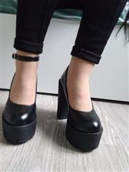 Lika Kirillova verified customer review of High Casual Platform Shoes