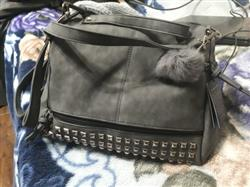 Doreen Abend verified customer review of Nubuck Leather Messenger Bag