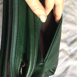 Latesha Rodriguez verified customer review of Casual Soft Leather Shoulder Bag