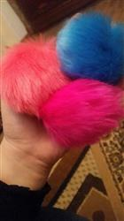 Alicia Donaldson verified customer review of Perfect Pompom Keychain For Your Bag