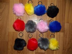 Gertrude Harrison verified customer review of Perfect Pompom Keychain For Your Bag