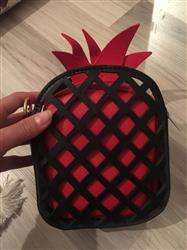 Karoline Rustad verified customer review of Pineapple Shaped Handbag