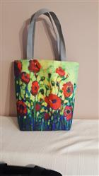Hedwig Borodina verified customer review of Printed Canvas Tote Bag