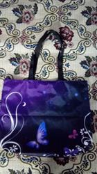 Stanislaus Yevseyeva verified customer review of Foldable Purple Butterfly Tote Bag