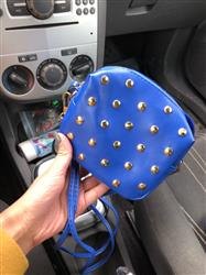 Charlotte Ginn verified customer review of Mini Fashion Rivets Handbag
