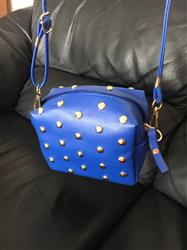 Sally Nichols verified customer review of Mini Fashion Rivets Handbag