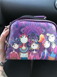 Effie Bauman verified customer review of Cartoon Print Handbag