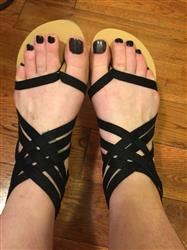 Sara Moreton verified customer review of Summer Rome Style Sandals
