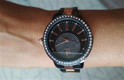 Angela W. Perea verified customer review of Rose Gold Crystal Wrist Watch