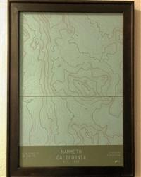 Erica S. verified customer review of Mammoth, California-TOPO Series Map