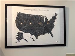 Conner T. verified customer review of Hydrological Map of America