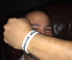 Orien V. verified customer review of Underdog Mentality Legacy Wristband | White/Red/Black