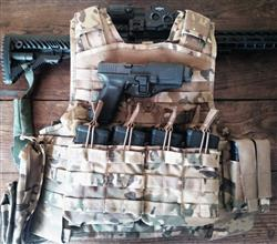 Anonymous verified customer review of Gilet porte plaque balistique Bulldog Tactical ouvert MK1