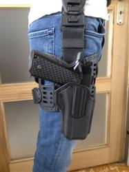 Damien V. verified customer review of Holster Blackhawk polyvalent Omnivore