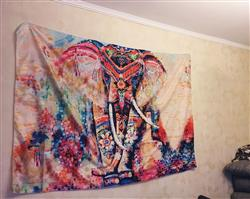 Olesya Yuryeva verified customer review of Elephant Mandala Tapestry
