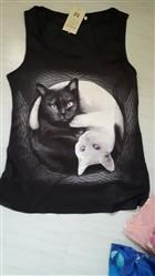 Paula Semple verified customer review of Yin Yang Cat Women Tank Top