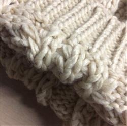 Annabelle Freeman verified customer review of Hand Knitted Cat Ear Beanie