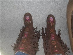 Tunde P. verified customer review of Native American Fashion Boots