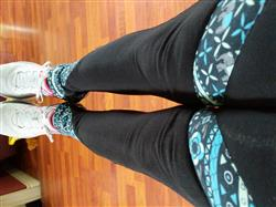 Bridget G. verified customer review of Seree Blue Leggings