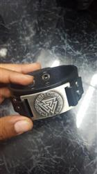 Christopher Hess verified customer review of Leather Viking Vegvisir Arm Cuff