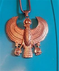 Jerry Woody verified customer review of Egyptian Falcon of Horus Amulet