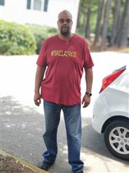 Korea H. verified customer review of Akono Men's Melanin African Print T-Shirt (Maroon/Yellow/Black Kente)