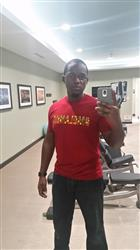 M. A. verified customer review of Akono Men's Melanin African Print T-Shirt (Maroon/Yellow/Black Kente)