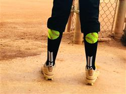 Ashley L. verified customer review of Softball Socks with Softball Logo Over the Calf