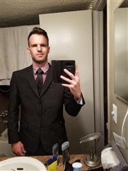Christopher C. verified customer review of BLACK THREE BUTTON SUIT