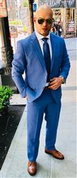 Elvys G. verified customer review of CHARCOAL GREY TWO BUTTON SUIT