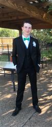 Shabreann N. verified customer review of BLACK THREE PIECE TR SUIT